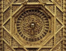 古建筑藻井,古建筑天花板,穹顶最神秘的诱惑 (7)
