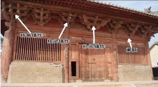 古建筑木结构铺作