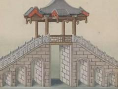 各类古建筑亭手绘_仿古凉亭手绘图片 (46)