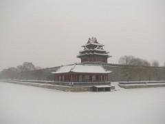 2020年雪后的故宫颐和园,雪中古建园林宛若画卷 (20)