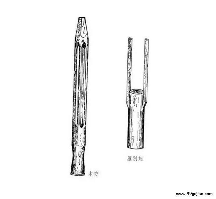 夯土墙工具:夯——是土作的主要工具