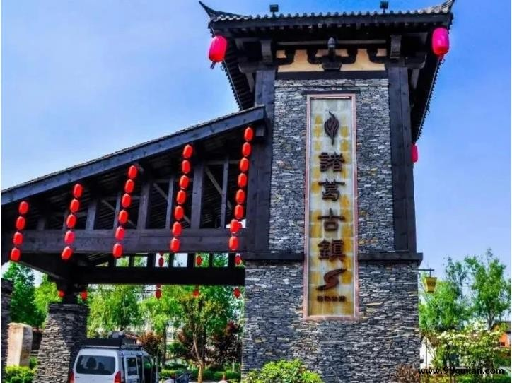"""中国最""""假""""古镇,花3.5亿仿造古建筑"""